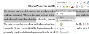 What is Plagiarism and tips on how to Avoid it