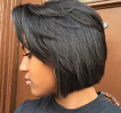 Short hair bob in Kenya, How to style, best for and photo