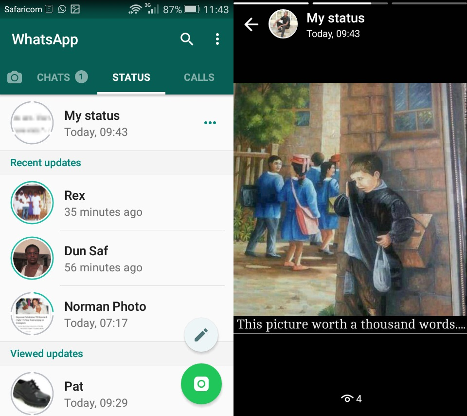 How to Save Whatsapp Live Status Photos or Videos