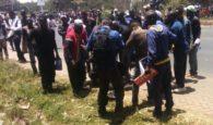 Motorist Ploughs Through Anti-IEBC Demonstrators, Kills One