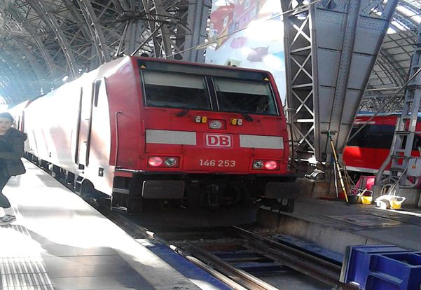 Picture Of The Regional Bahn