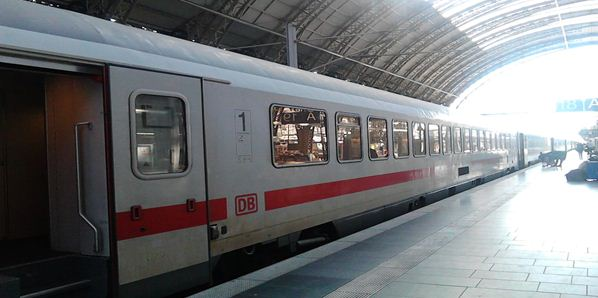 Side View Of The Intercity Express
