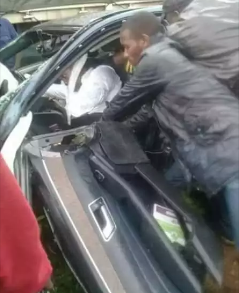 PHOTOS: Nyeri Governor Passes on After Grisly Dawn Accident