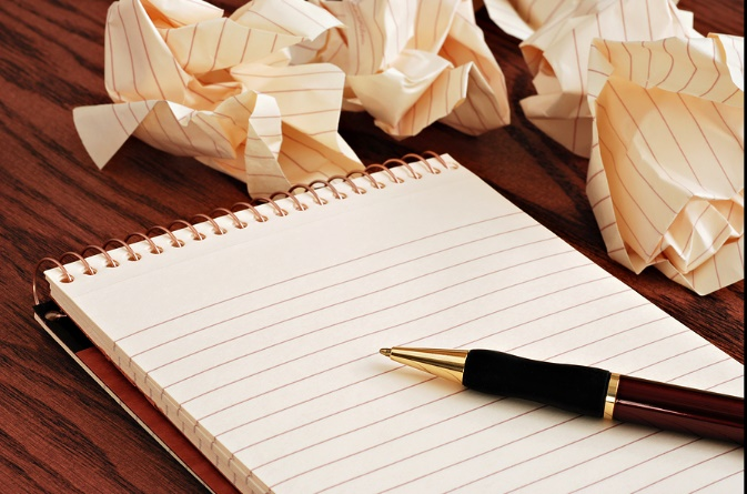 Good writing involves writing and rewriting times over