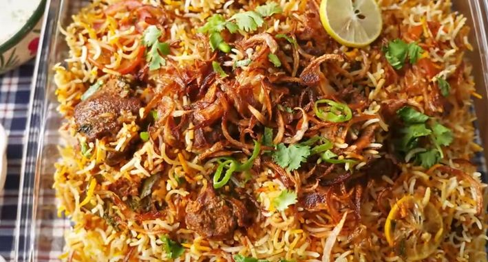 Procedure of how to cook Beef Biryani Meal, Recipe