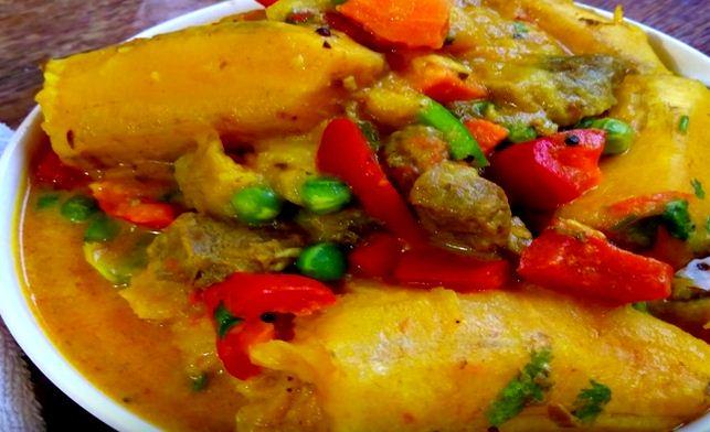 Procedure of how to cook Matoke meal