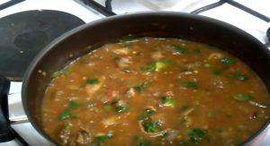 Procure of how to cook Matumbo wet fry (tripe), Kenyan recipe