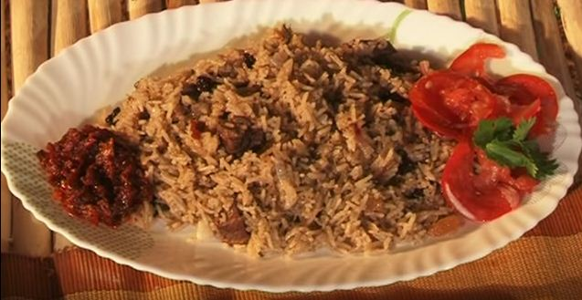 how to cook Pilau meal, Kenyan Recipe