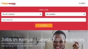 Best websites to look for a job in Kenya,Career search blogs