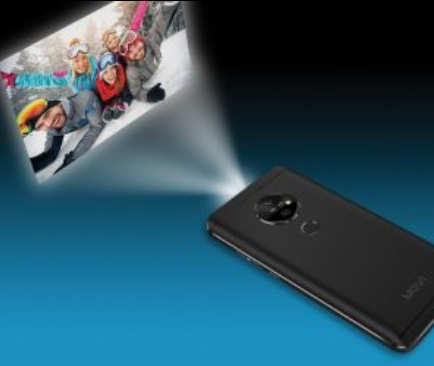 The Movi Smartphone with a pico projector
