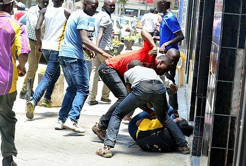 Nairobi muggers have become so bold that they attack victims in broad daylight