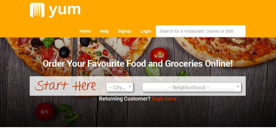 Order your favorite food online in kenya on yum.co.ke and have it delivered for free within nairobi