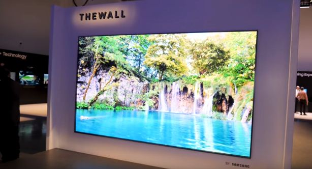 The Wall 146, Samsung's MicroLED TV at CES 2018