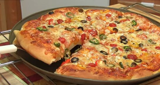 homemade pizza cooking recipe