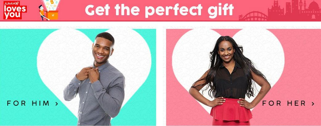 Jumia Kenya Valentine Day Offers 2018, Best deals for loved ones