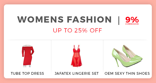 Jumia valentines day offer on woman fashion