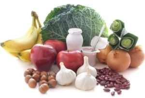 Some common prebiotic and probiotic foods