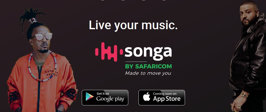 Songa by Safaricom live music streaming app