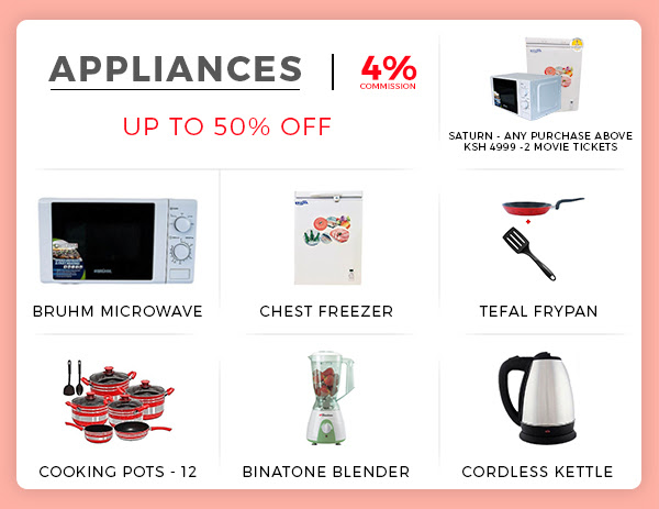 jumia valentines day offer on home appliances