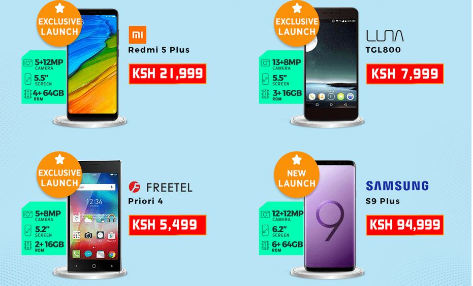 2018 Jumia Kenya Mobile week new phone launches deals