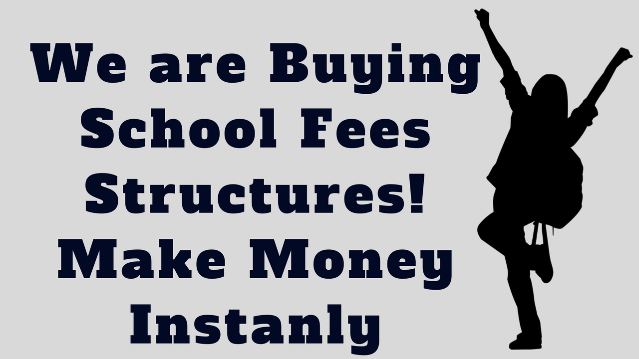 sell school fees structures in Kenya and earn online