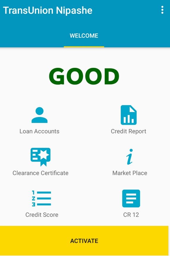Check CRB status in Kenya for free with TransUnion App