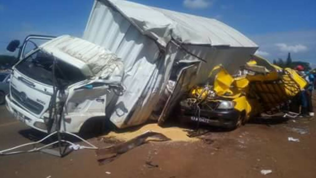 limuru girs bus accident on thika road today