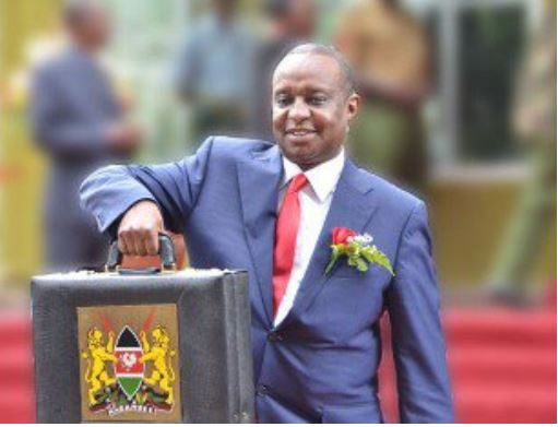 Cabinet Secretary of Ministry of National Treasury, Henry Rotich in parliament