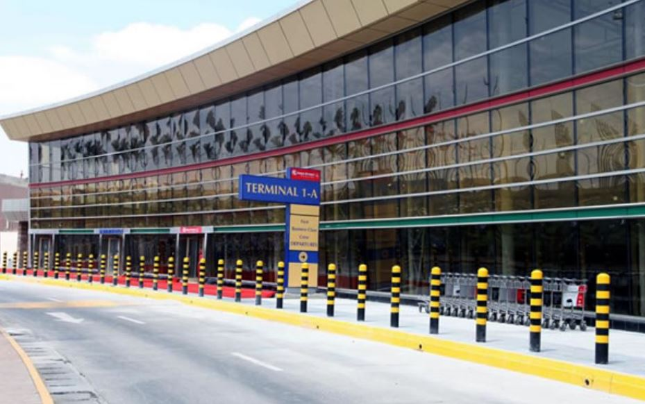 Direction of Jomo Kenyatta International Airport (JKIA) Terminal 1A
