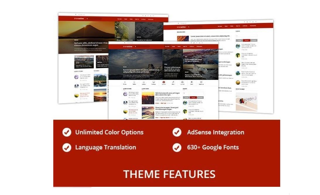 SEO friendly WordPress themes to increase google page rankings and improve load speed