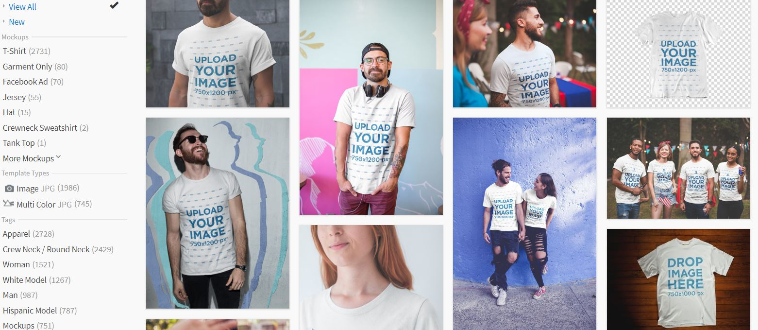 How to Make T-Shirt Mockup Design with Placeit