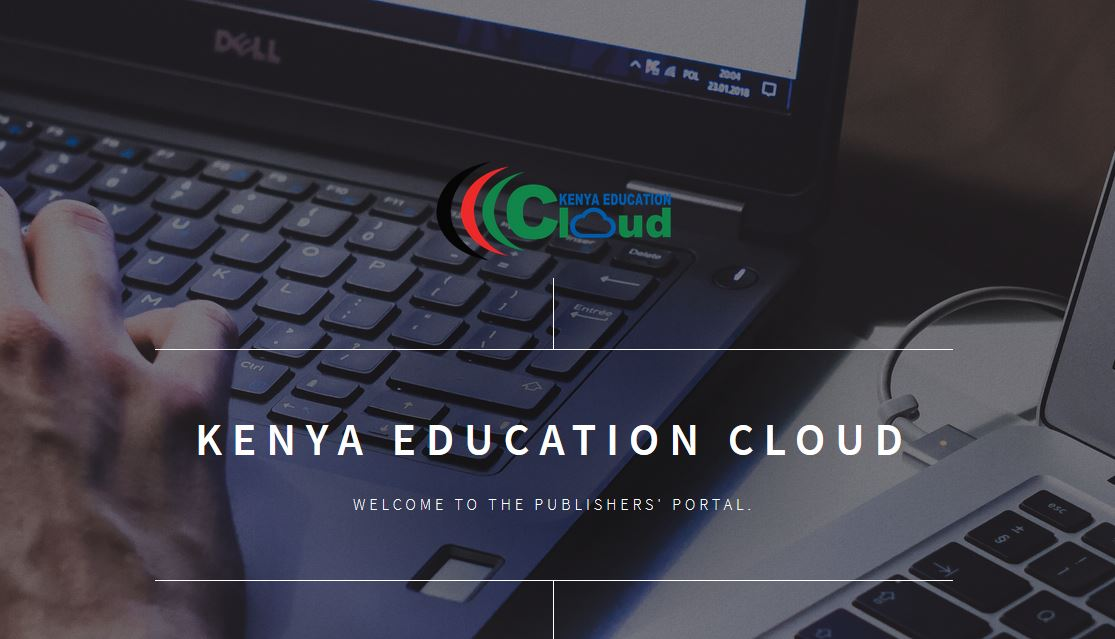 Kenya Education Cloud (KEC) cms portal for publisher, guide on how to register, submit content, and get approved