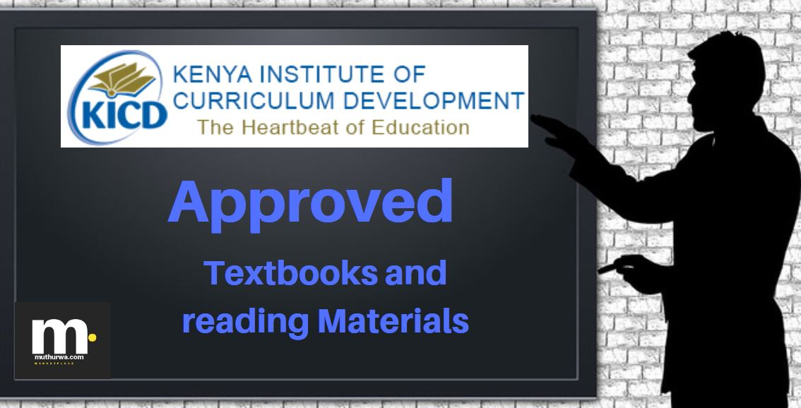 Ministry of education approved religious studies textbooks for pp1, pp2 and daycare