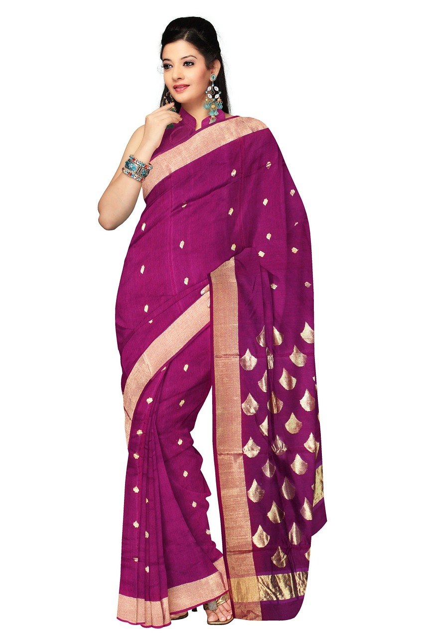 cute Indian purple dress in for Kenyan ladies