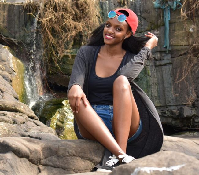 Mercy Grace Kavata-MultiMedia University outstanding student