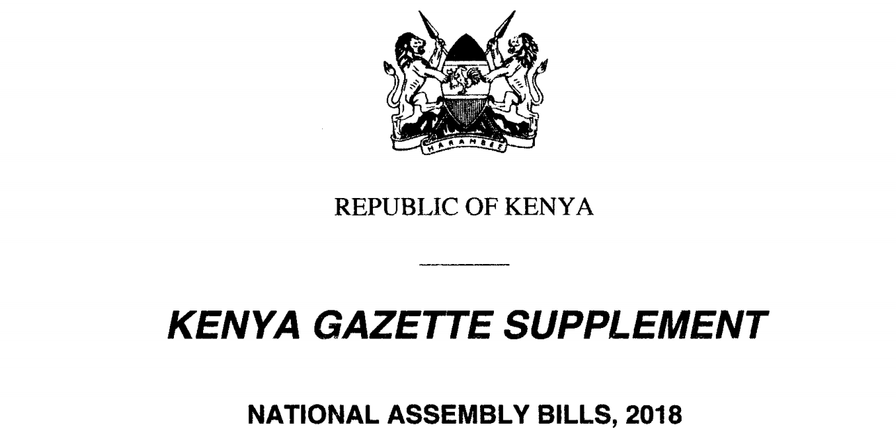 Finance Bill of 2018, understanding the presumptive tax for the informal sector in kenya, self employed income tax