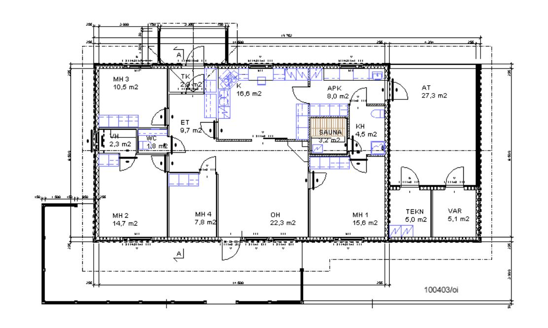 Three Bedroom House Floor Plan In Kenya | Home Plan