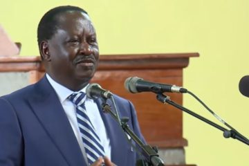 Latest updates of Raila Odinga Video speech today