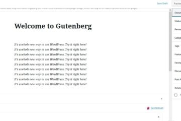 Wordpress 5 0 Gutenberg wp-json REST API error | Kenyayote