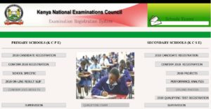 KNEC details KCSE and KCPE 2019 Registration of Candidates, Forms, Dates and Deadline