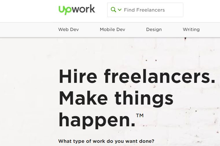Get College and University students jobs on Upwork