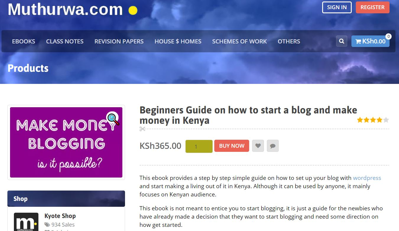 How start blogging in Kenya and earn money while studying