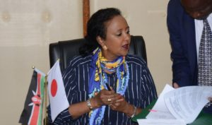 Cs Amina on 2019 KUCCPS University Placement, Revision of Courses process and dates, University Entry Grades and cutoff points in Kenya