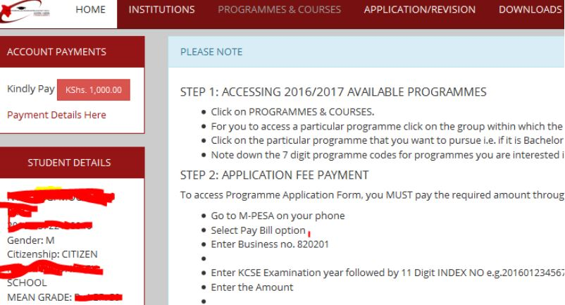 KUCCS 2019 Revision of Courses Procedure (For Degree, Diploma and Certificate placement)