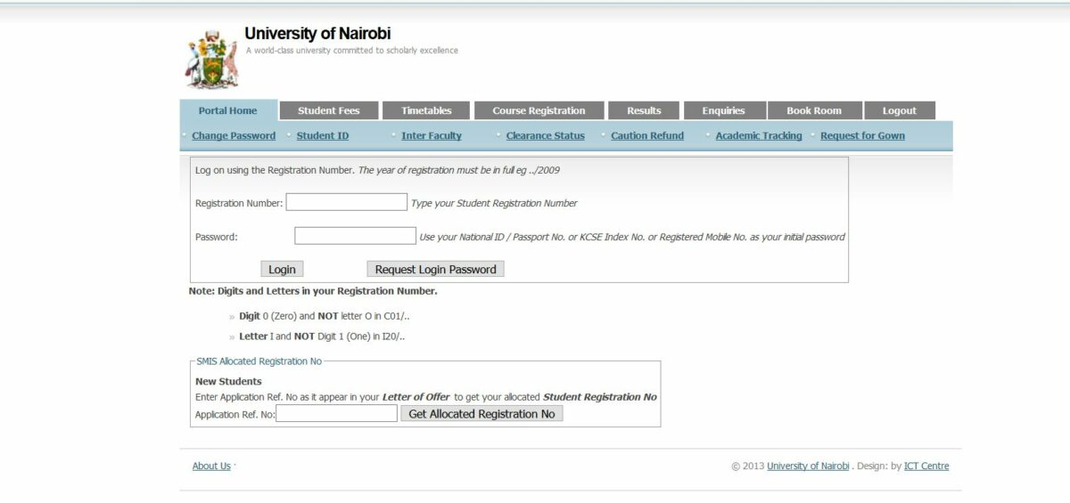 How to get or Download University of Nairobi (UoN) KUCCPS Admission Letter