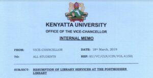 kenyattta university postmodern library incidence , breakage of tiles, lift collapse