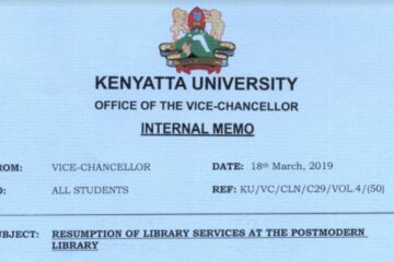 kenyattta university postmodern library incidence , breakage of tiles, lift collapse