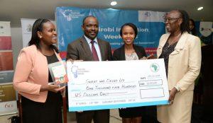 Nairobi innovation week prior to 2019 startup award winners