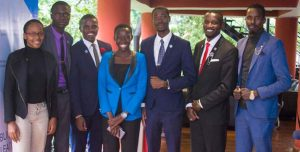 Students selected for the student leadership award