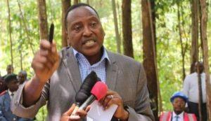 Kitutu Chache South MP Hon. Richard Momaima Onyonka issuing CDF Bursaries